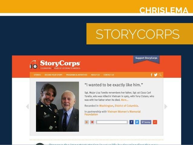 CHRISLEMA STORYCORPS