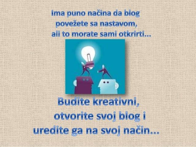 Blog u nastavi