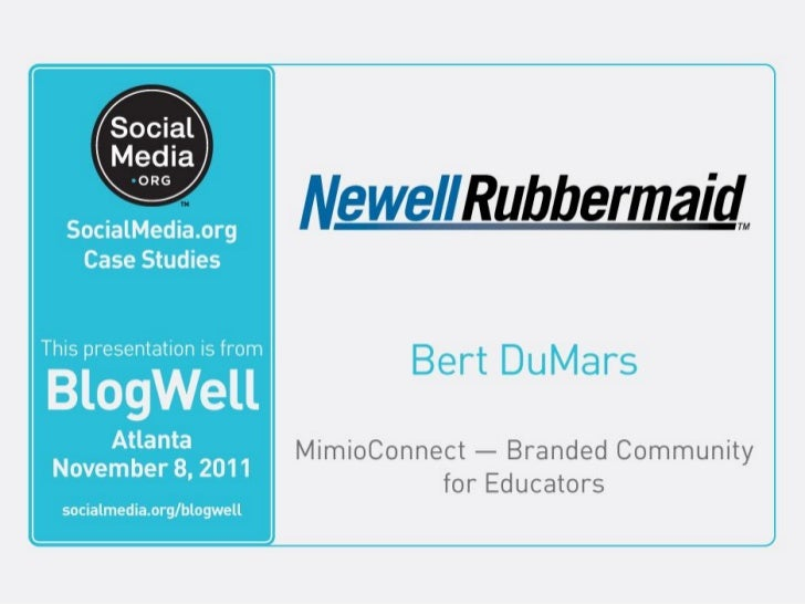 Newell rubbermaid case study strategy