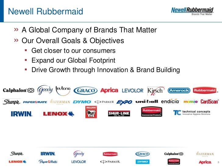 newell rubbermaid case study strategy As part of its digital transformation efforts, newell brands needed to improve   solution the $13 billion consumer goods company partnered with content26 to.