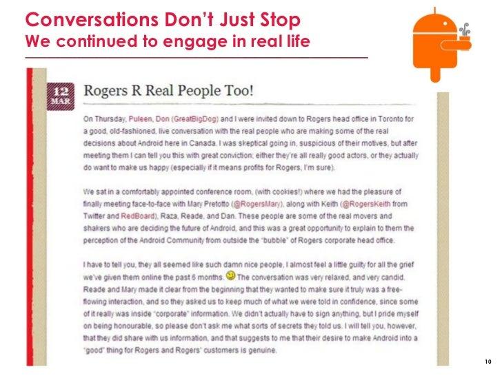 Rogers communication case