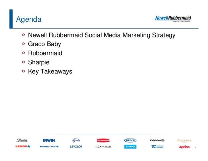newell rubbermaid strategy analysis A newell runs a strategy of expansion strongly based on acquisitions  ( analysis later in text) empowerment of the 21 divisions that are responsible for  their own p/l  ability to move fast and to be patient (see rubbermaid  acquisition) 2.