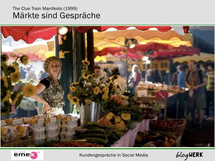 Blogwerk Kundenspräche in Social Media Slide 3