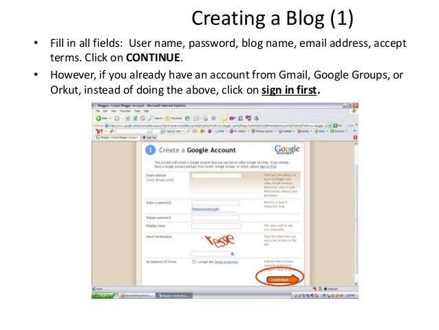 Blog ICT slides