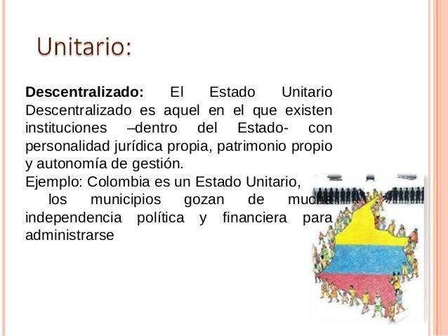 Máxima forma de organizaciónjurídica de los individuos que integranun conglomerado social o unacolectividad, en donde cada...