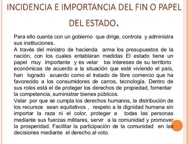 Presidente: es el jefe de estado y gobierno, supremaautoridad administrativa de Colombia y Jefe Supremo delas Fuerzas Arma...