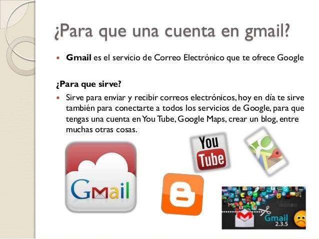 Blog y gmail