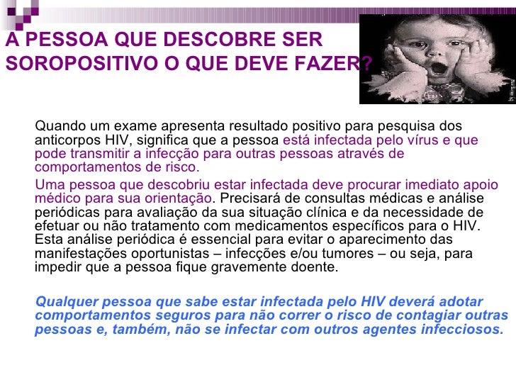 O que significa nao reagente no exame de hiv