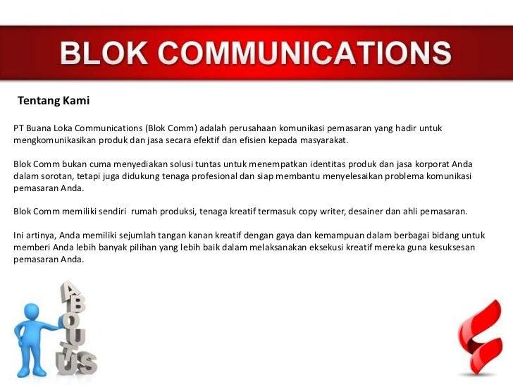 Blokcomm presentasi Slide 2