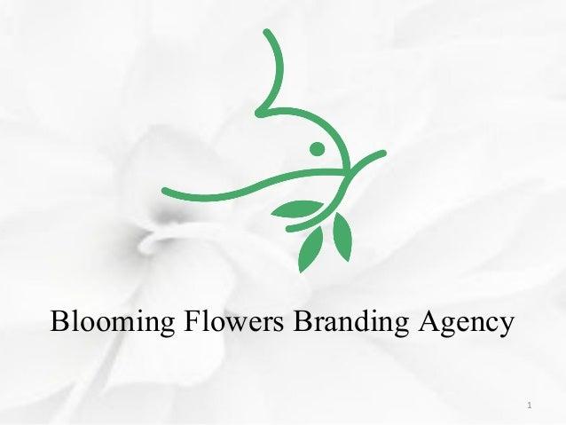 Blooming Flowers Branding Agency 1