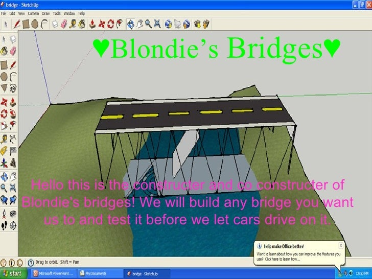 ♥ Blondie's  Bridges♥ Hello this is the constructer and co constructer of Blondie's bridges! We will build any bridge you ...