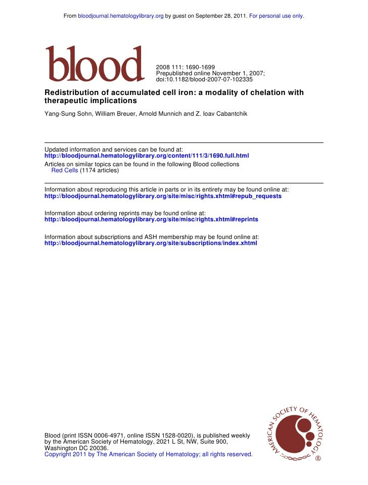 From bloodjournal.hematologylibrary.org by guest on September 28, 2011. For personal use only.                            ...