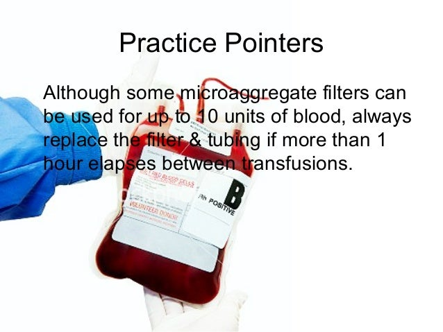 Blood transfusion a nursing procedure by