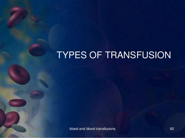Blood Safety Information System (BSIS) data exchange and ...  |Exchange Transfusion Documentation