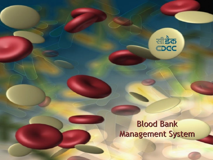 Blood BankManagement System