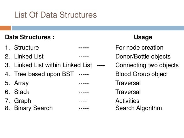 What is the real life application of tree data structures ...