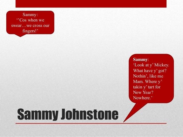 mrs johnstone blood brothers essay