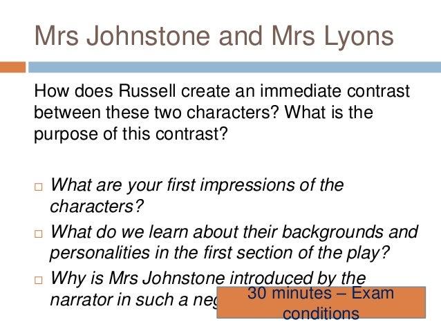 Mrs. Lyons Essay