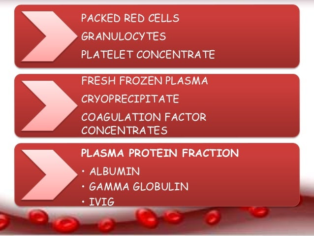 blood and blood component therapy in Blood component therapy - school of medicine ppt presentation summary : blood component therapy fundamentals in  utilize newfound knowledge of transfusion risk.