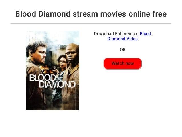Blood Diamond Stream