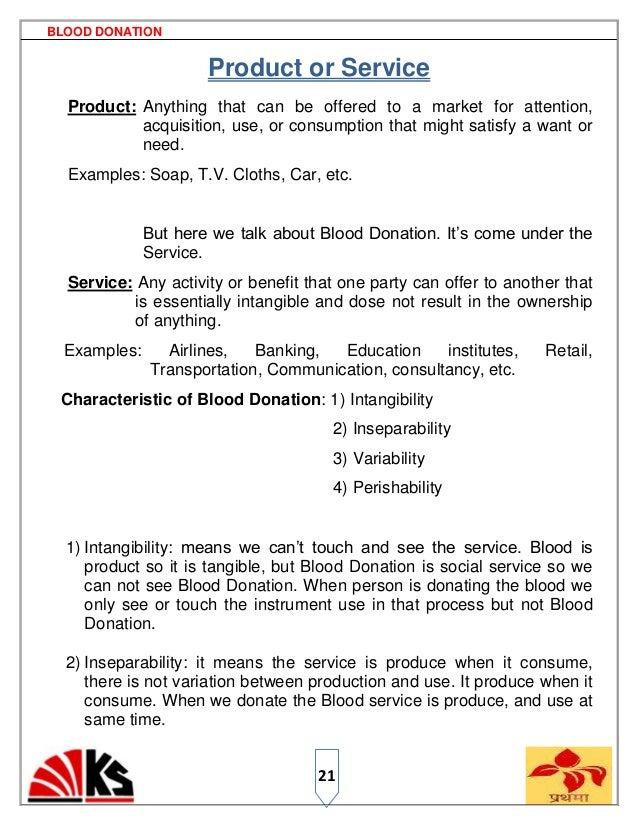 blood donaion 7ps rh slideshare net Sample Standard Operating Procedures Document Standard Operating Procedures Art