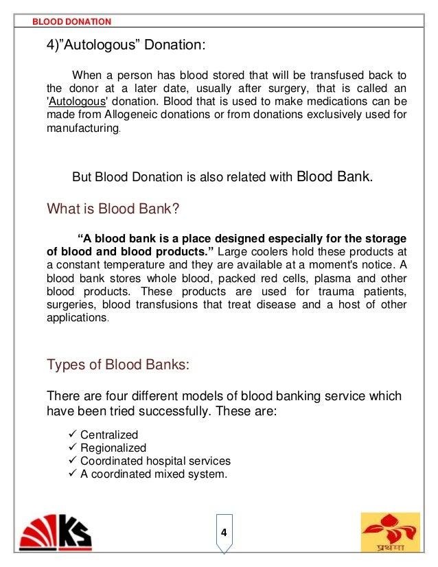 blood donaion 7ps