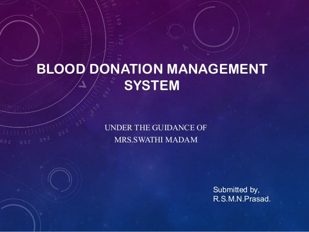 Blood donation ppt