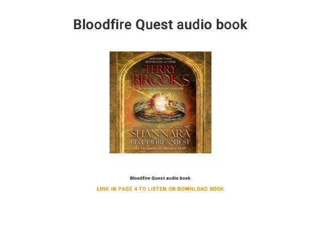 Bloodfire Quest