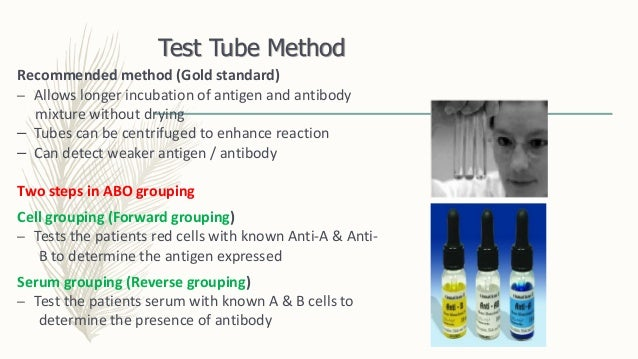 what is blood grouping test