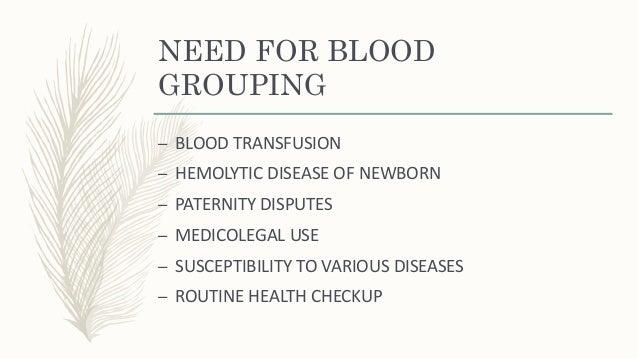 Blood grouping Slide 3