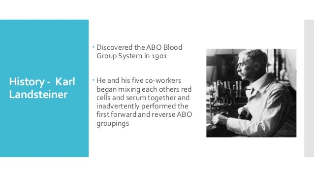 Blood grouping Slide 2