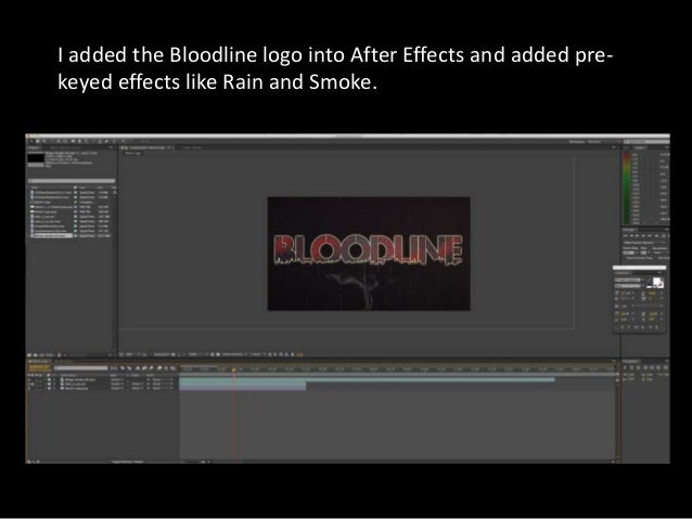 Bloodline Logo and Release Date