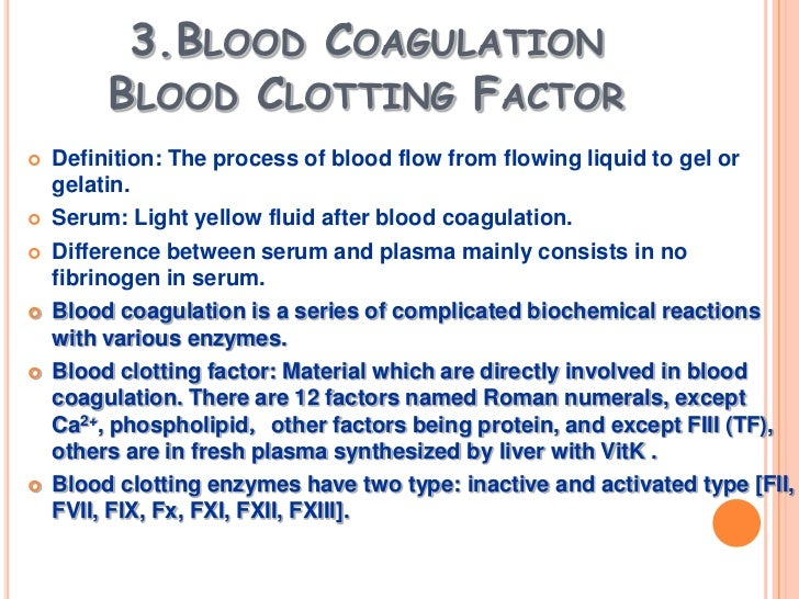 blood clotting 3 essay Blood - hemostasis (essay) p 349 stoppage of bleeding three major stages: vascular spasms platelet plug formation coagulation (blood blood clots within 3-6.