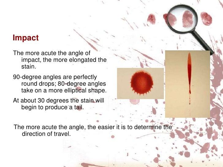 blood spatter analysis ppt. Black Bedroom Furniture Sets. Home Design Ideas