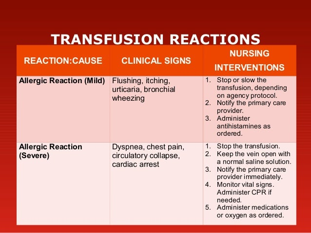 blood type reaction What happens during a blood transfusion why would you need a blood  transfusion blood types types of blood transfusions during the transfusion .