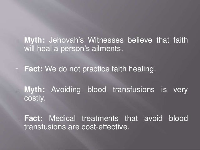 the ethical dilemma of jehovah s witnesses and blood transfusions Ebscohost serves thousands of libraries with premium essays, articles and other content including blood transfusion and jehovah's witnesses: the legal and ethical.