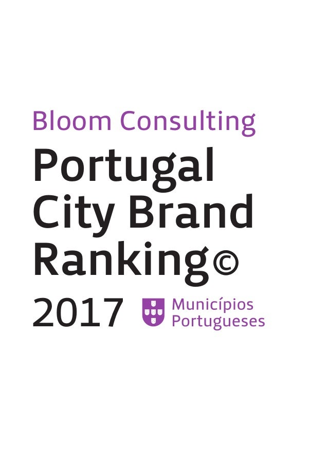 Bloom Consulting Portugal City Brand Ranking© 2017