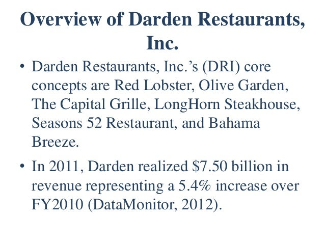 Olive Garden To Go Lifts Darden Profits: Bloomin' Brands Loan Valuation Presentation (v. 3 Ma