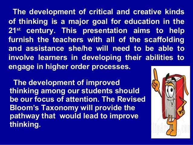 Blooms taxonomy powerpoint Slide 2
