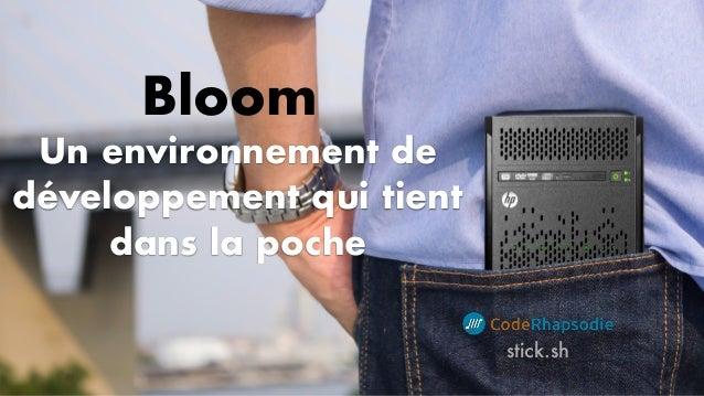Un environnement de développement qui tient dans la poche stick.sh Bloom
