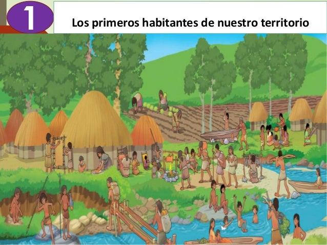 Diapositva elaborada por: Marco Mendieta 1 Los primeros habitantes de nuestro territorio