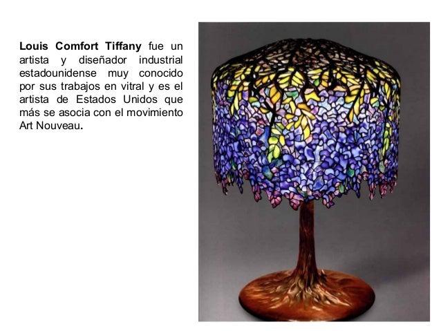 Louis Comfort Tiffany fue un artista y diseñador industrial estadounidense muy conocido por sus trabajos en vitral y es el...