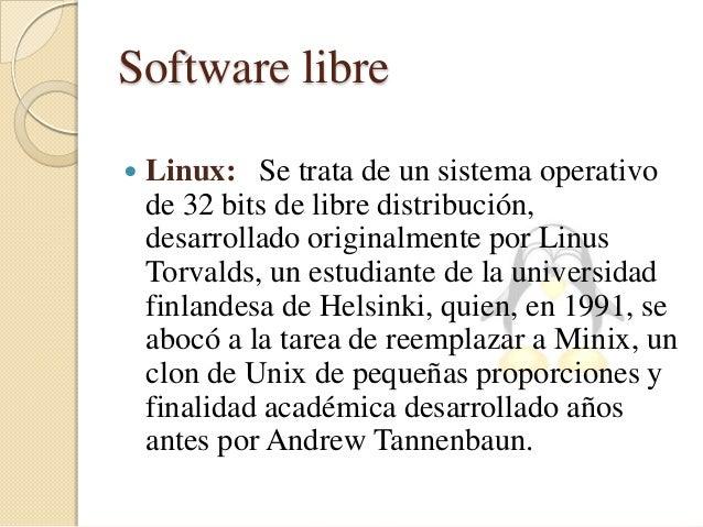 distribuciones más importantes de Linux   UBUNTU: Distribución basada en Debian, con lo que esto conlleva y centrada en e...