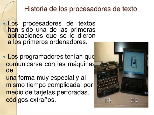 • Con el paso del tiempo los mismos programadores diseñaron una aplicación que les permitiera programar de forma más intel...