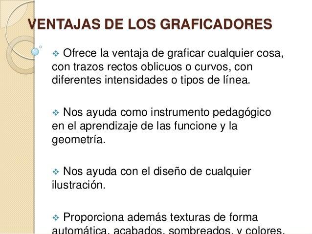 TIPOS DE GRAFICADORES  PAINT BRUSH  COREL DRAW  GNUPLOT