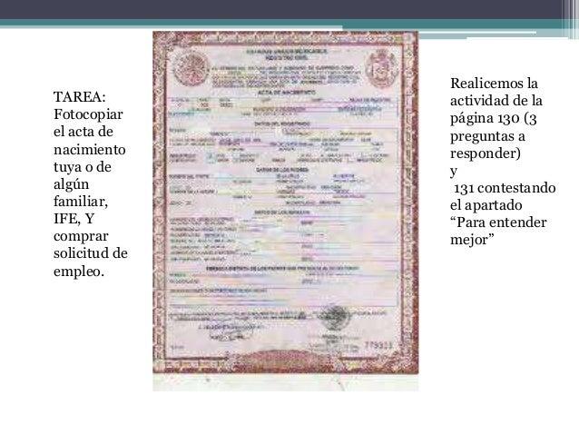 Bloque 2 formularios for Acta familiar