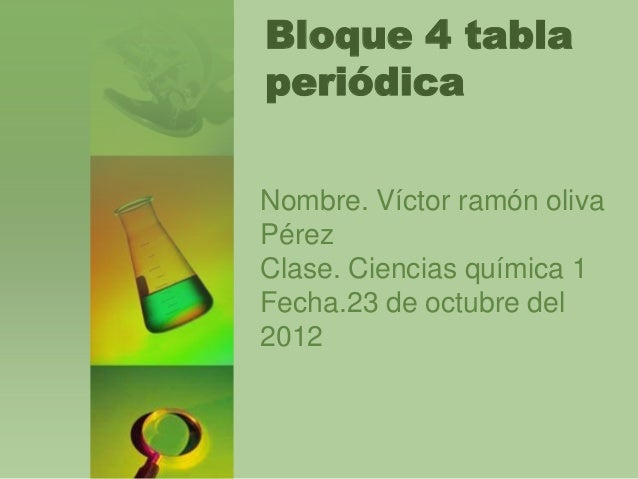 Bloque 4 tabla peridica copia bloque 4 tabla peridica copia bloque 4 tablaperidicanombre vctor ramn olivaprezclase ciencias qumica 1fecha23 de octubre del2012 urtaz Images