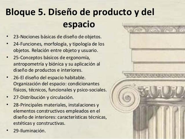 bloque 5 diseño del producto y del espacio