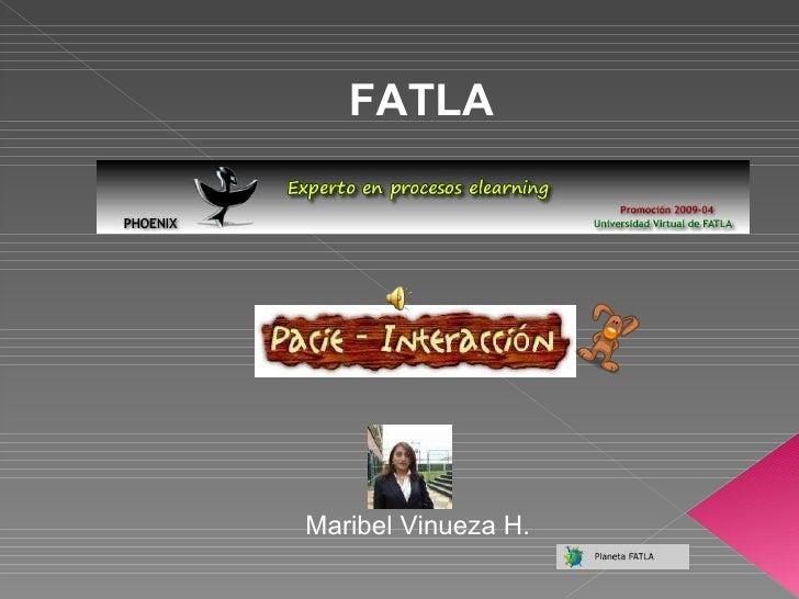 FATLA Maribel Vinueza H.