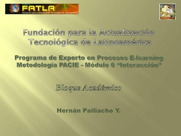Hernán Pailiacho Y.